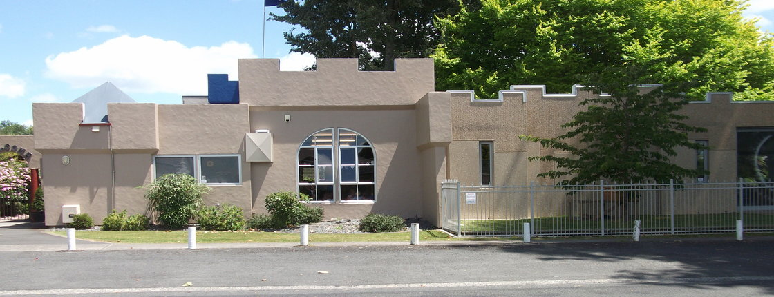 Castle front.jpg - The Cambridge Early Learning Centre, childcare, ECE, and daycare located in Cambridge, Waikato, NZ